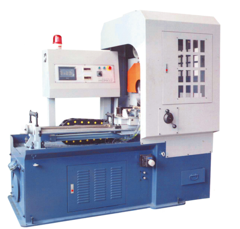 Hydraulic aluminum cutting machine (auto type)